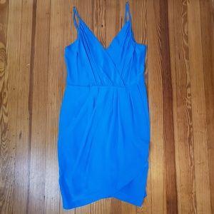Yumi Kim Silk Dress Blue EUC
